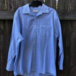 Michael Michael Kors Button Down Striped Shirt